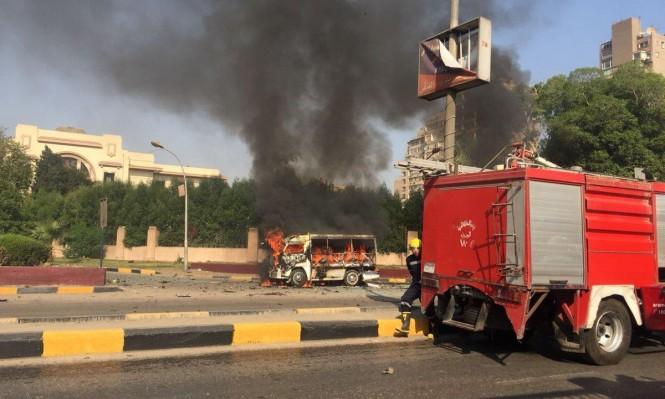 انفجار سيارة بالقاهرة يخلف 9 إصابات دون قتلى