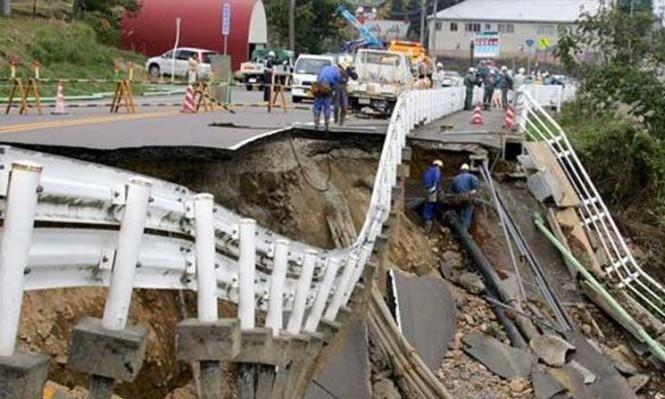 زلزال قوي يضرب الساحل الشرقي لليابان