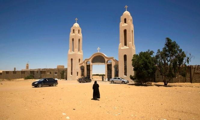 الدير الذي قُتِل فيه الأسقف (أ ب)