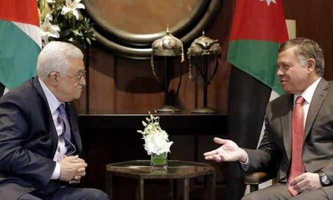 عباس يبحث بالأردن وقطر تطورات القضية الفلسطينية