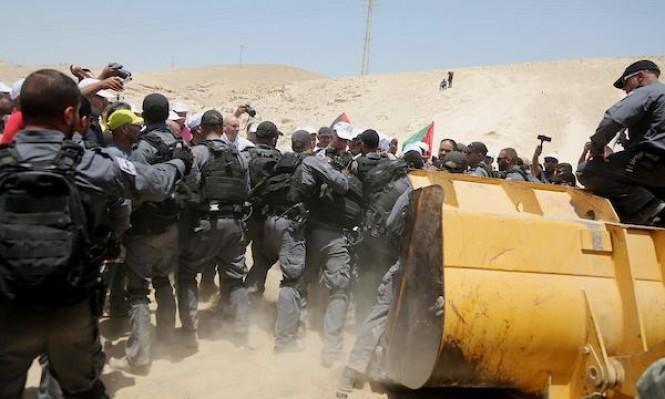 اقتراح جديد للاحتلال لتنفيذ مخطط تهجير الخان الأحمر