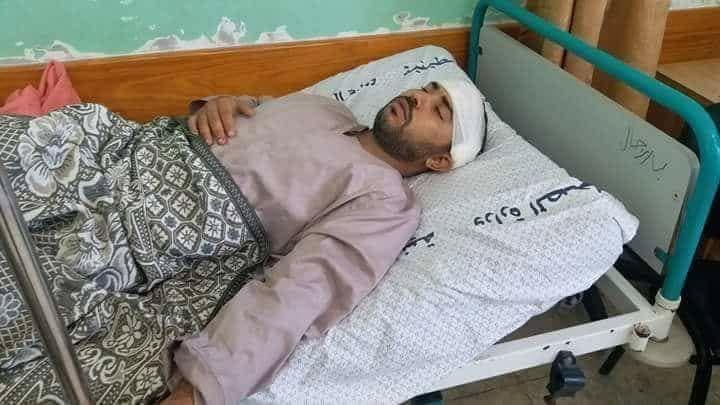 غزة تشيع الشهيدتين الرضيعة بيان ووالدتها إيناس