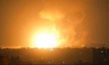 الجيش الإسرائيلي: استهداف 150 هدفا بغزة مقابل 180 عملية إطلاق