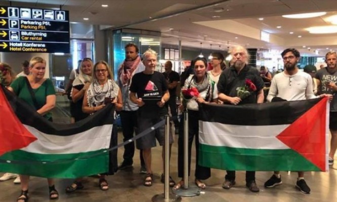 """ناشط سويدي: عوملنا كالـ""""حيوانات"""" أثناء اعتقالنا بإسرائيل"""