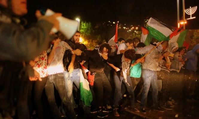 """#نبض_الشبكة: مظاهرة تل أبيب و""""منع"""" العلم الفلسطيني"""
