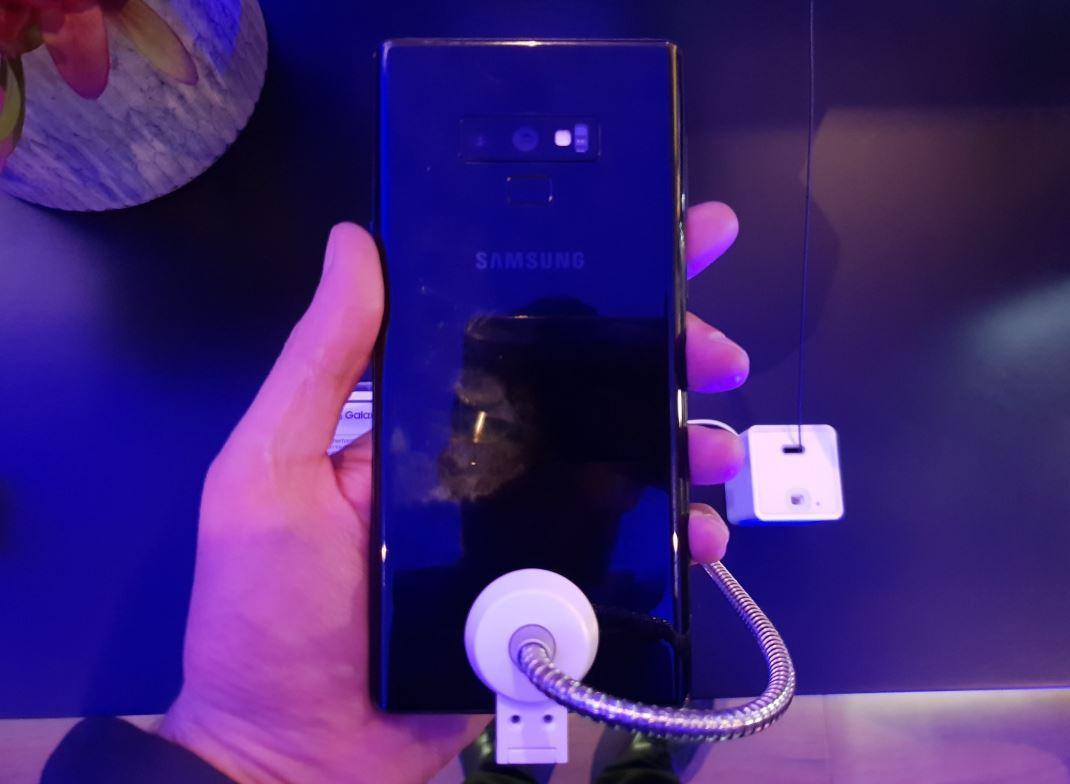 """سامسونج تكشف عن هاتف """"جالاكسي نوت 9"""" الجديد"""