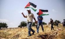 """مسيرة نعلين الأسبوعية السلمية تندد بـ""""قانون القومية"""""""