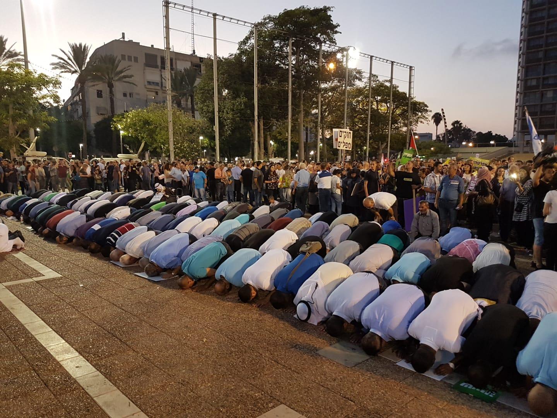 """تل أبيب: مظاهرة حاشدة للمتابعة ضد """"قانون القومية"""""""