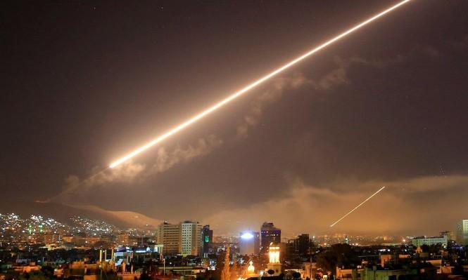 """دمشق: الدفاعات الجوية للنظام تصدت لـ""""هدف معادٍ"""""""