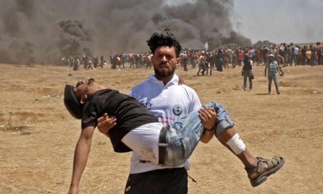 غزّة: ارتفاع عدد شهداء قمع الاحتلال لمسيرة العودة إلى 3