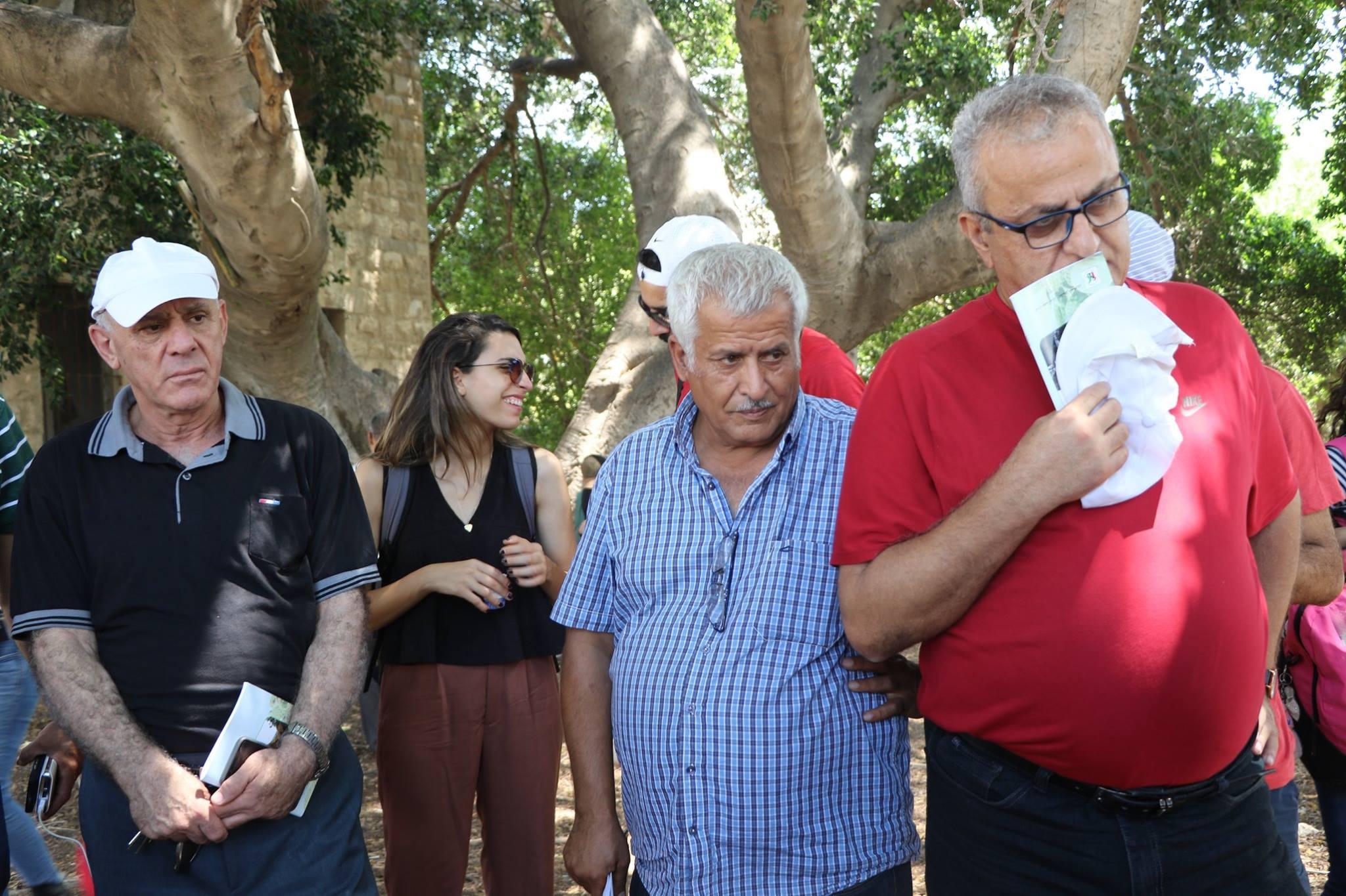 لجنة المهجرين تنظم جولة في البصة المهجرة