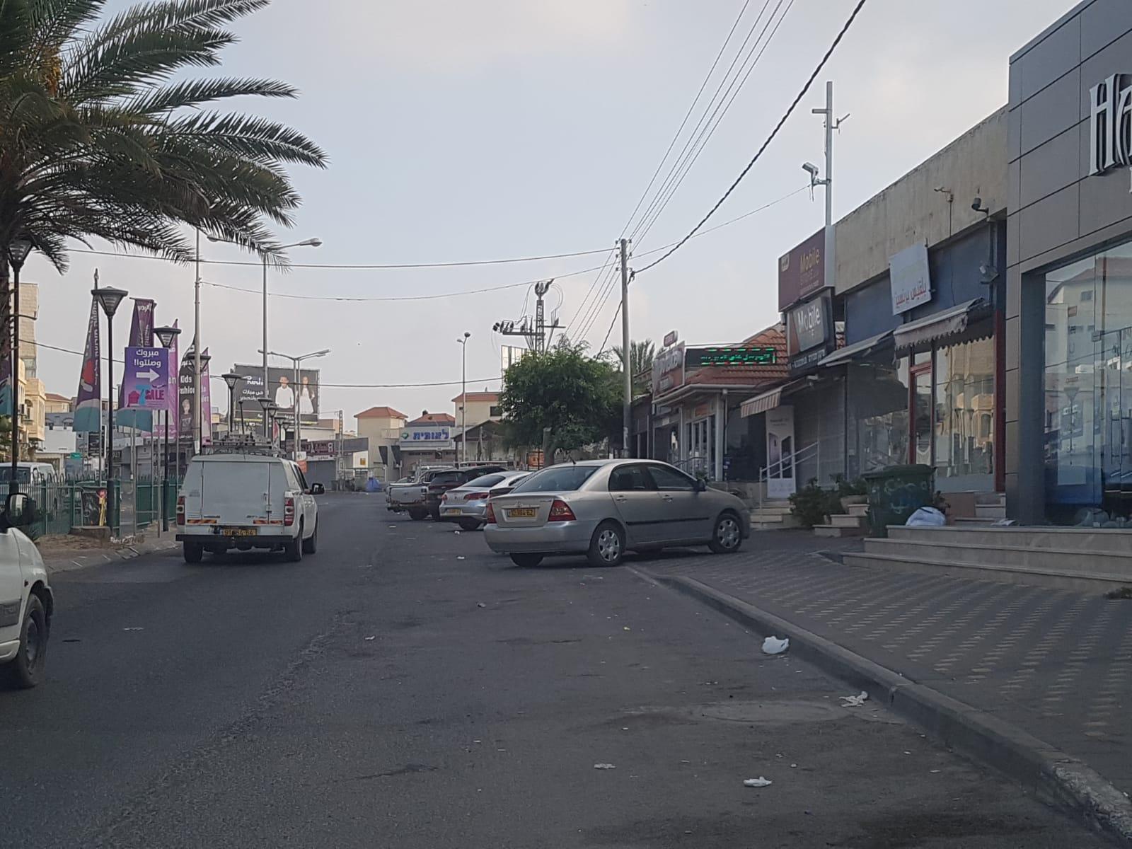 إضراب في باقة: خطوات تصعيدية ضد العنف والجريمة