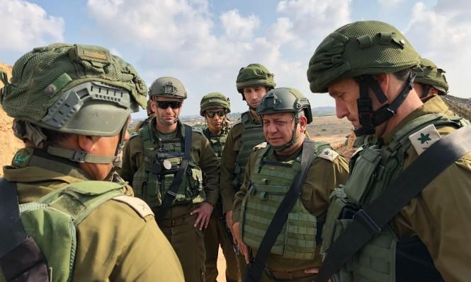 ليبرمان: المواجهة مع غزة مسألة وقت