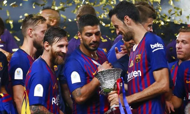 ميسي يدخل تاريخ برشلونة