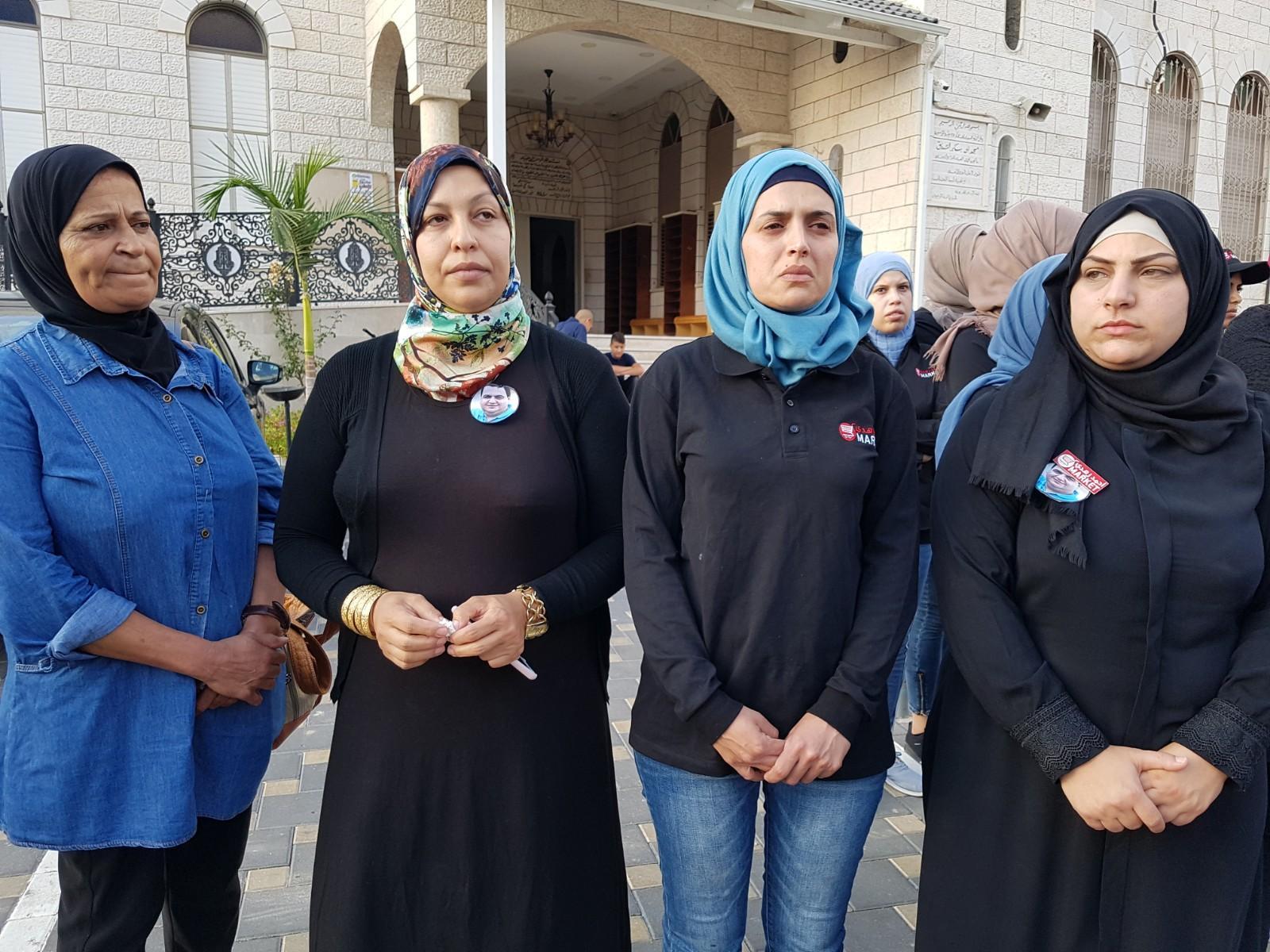 باقة الغربية: وقفة احتجاجية رافضة للعنف والجريمة