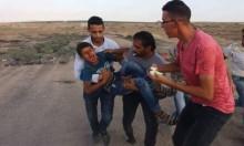 قطاع غزة: إصابة شخصين برصاص الاحتلال