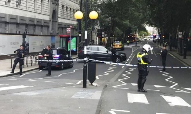 شرطة لندن: الدهس قرب البرلمان ذو صلة بالإرهاب