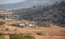تدريبات عسكرية بالأغوار بعد ترحيل عائلات فلسطينية