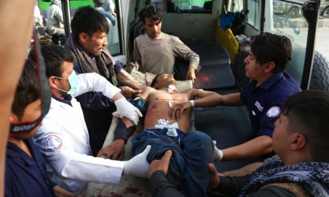 أفغانستان: مقتل 48 شخصا وإصابة العشرات بتفجير انتحاري في كابُل