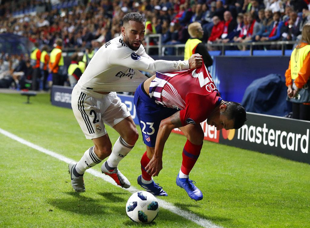 أتلتيكو مدريد يصعق الريال ويحصد السوبر الأوروبي