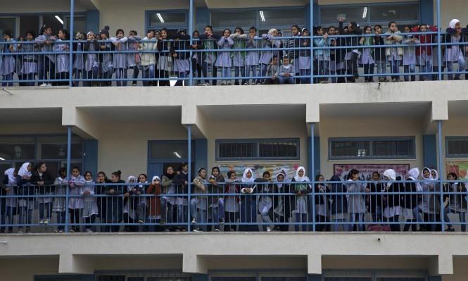 """فتح مدارس """"الأونروا"""" والميزانية لن تساعد لإكمال العام الدراسي"""