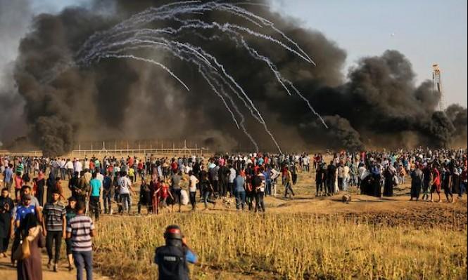 غزة: شهيدان بمسيرة العودة الأسبوعية