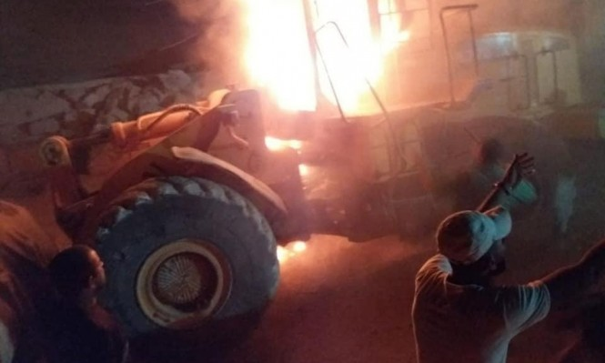 اعتداءات للمستوطنين على مركبات فلسطينية قرب نابلس