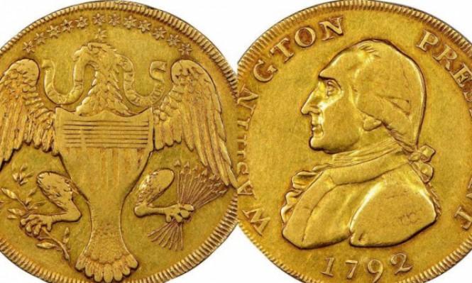 "بيع عملة ""جورج واشنطن"" بـ 1.7 مليون دولار"