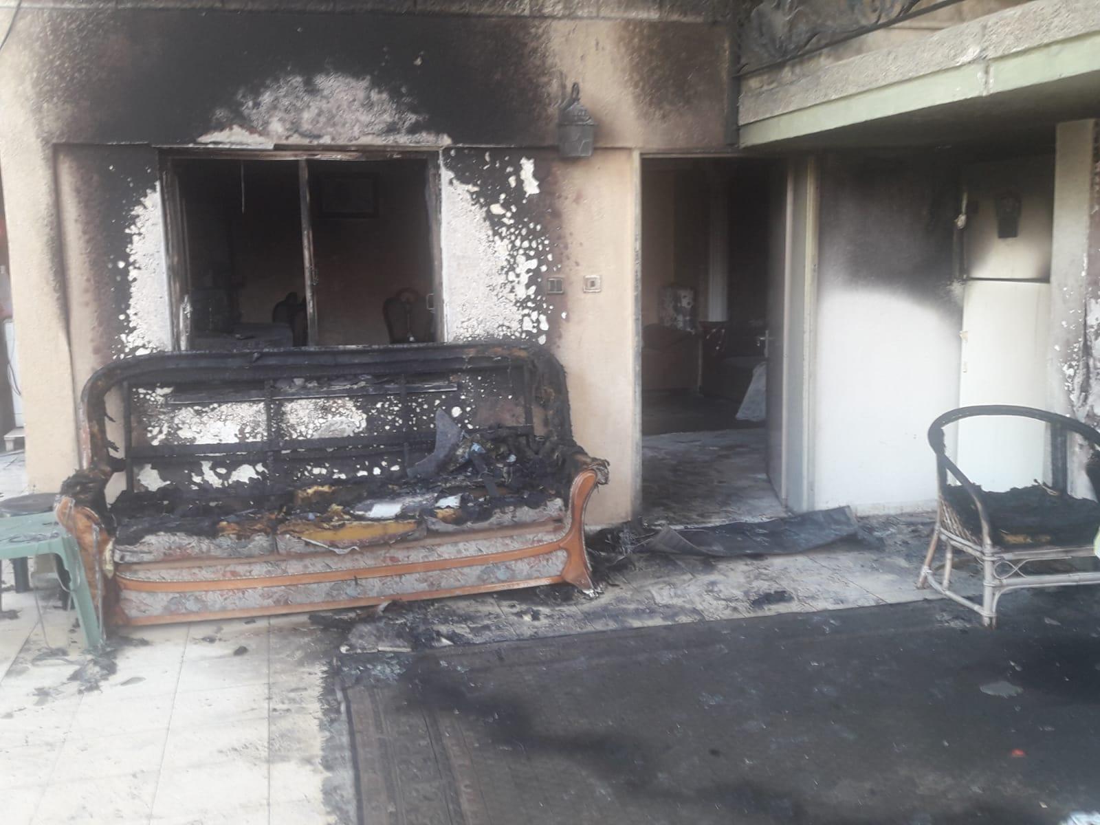 للمرة الثانية خلال أيام: إطلاق نار وحرق منزل مواطن بعرابة