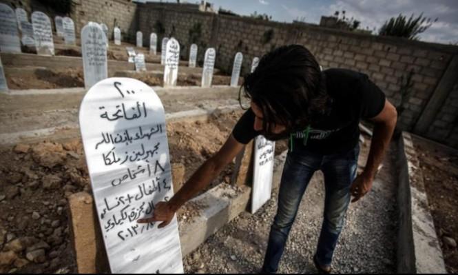 النظام السوري ينبش قبور ضحايا مجزرة كيماوي الغوطة