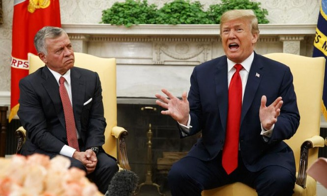 تقرير: الملك عبد الله حذر ترامب من حل الدولة الواحدة