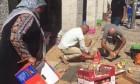 طواقم بلدية الاحتلال تعتدي على البائعات بالقدس القديمة