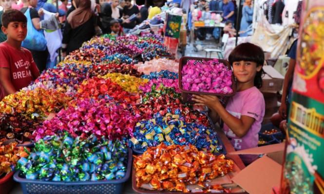ألوان العيد في غزة
