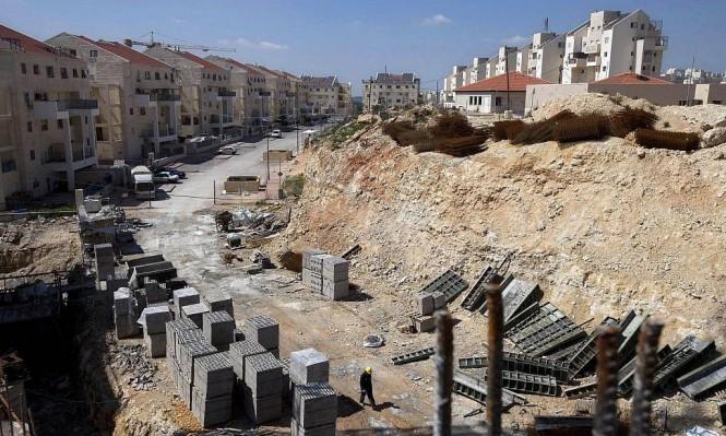 1000 وحدة استيطانية جديدة في الضفة الغربية المحتلة قريبا