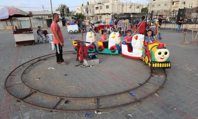 أطفال غزة والعيد