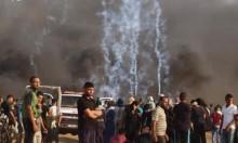 """جمعة """"الوفاء للطواقم الطبية والإعلامية"""" بغزة: 189 إصابة بسلاح الاحتلال"""