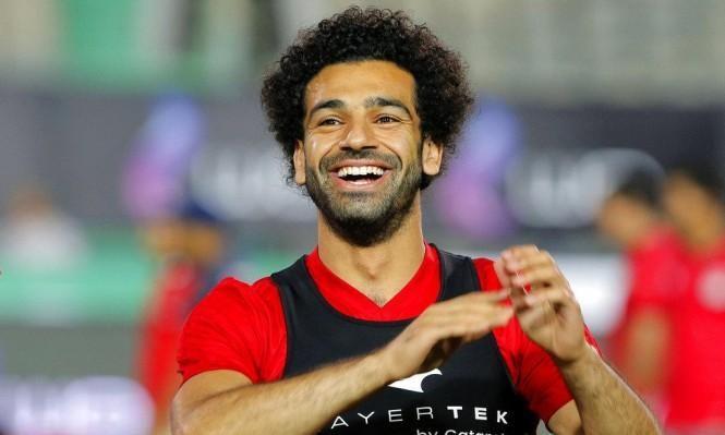 النجم المصري محمد صلاح يستعد لمواجهة برايتون