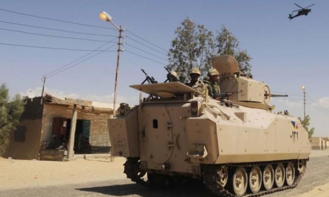 مقتل 8 جنود مصريين و4 مسلحين بهجوم بسيناء