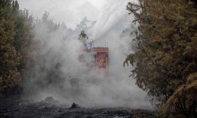 احتمال انفجار ذخائر في حريق يجلي سكان جنوبي برلين