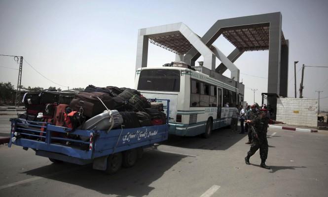 السلطات المصرية تستأنف فتح معبر رفح الأحد