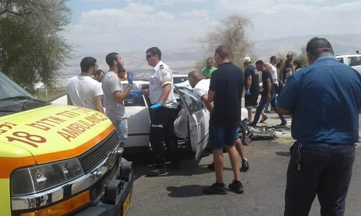 مصرع مرب من إكسال بحادث طرق قرب بيسان