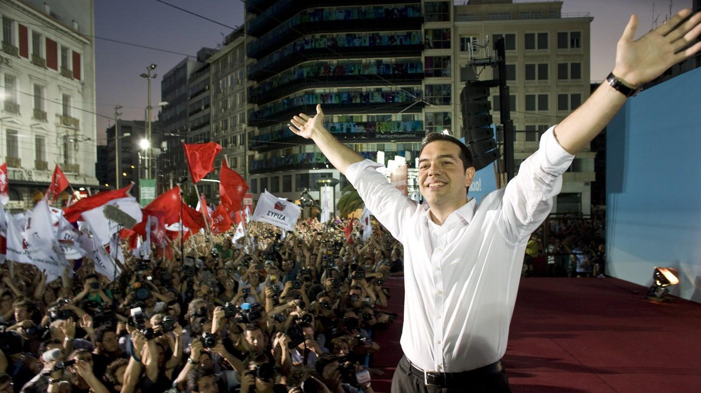 رئيس الوزراء اليوناني (أ ب)