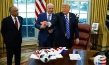 ترامب يلتقي إنفانتينو ويُشهر البطاقة الحمراء بوجه الصحافيين