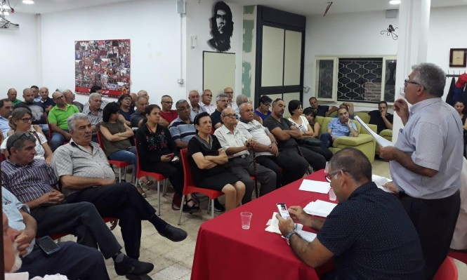 جبهة الناصرة: نخوض الانتخابات ونصر على إحداث التغيير