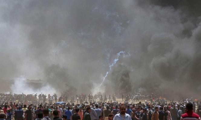 غزة: 240 مصابًا برصاص الاحتلال بينهم مسعفة بجراح حرجة