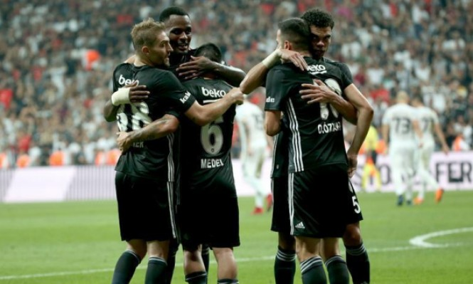 بشيكتاش يتأهل لمرحلة المجموعات ببطولة الدوري الأوروبي