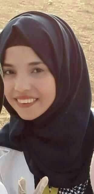 المسعفة شروق أبو مسامح (فيسبوك)