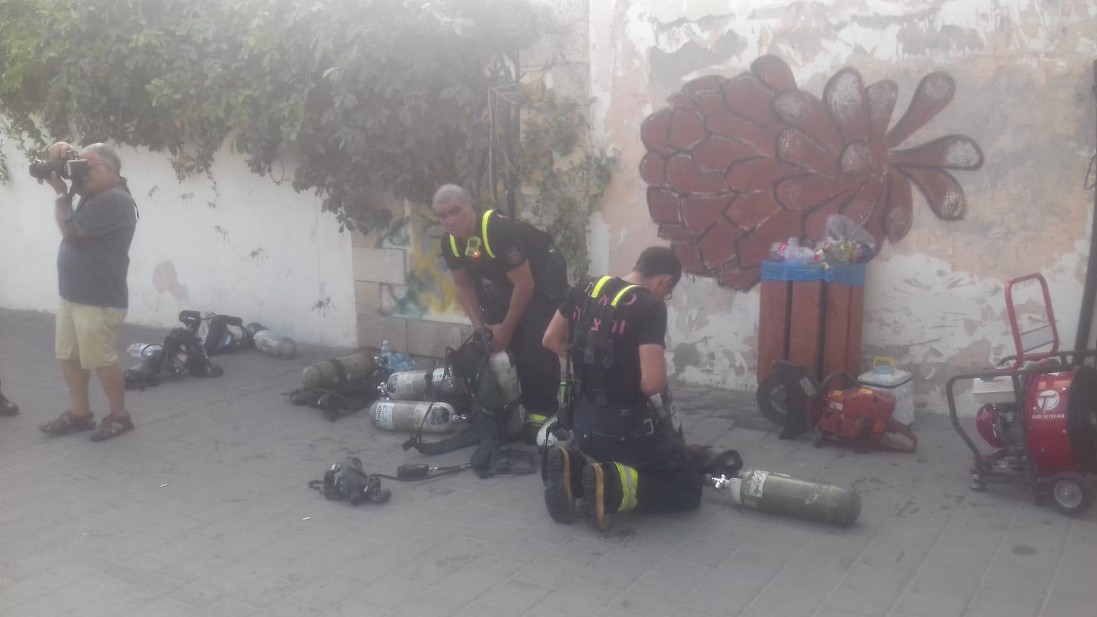 مصرع امرأة وزوجها في حريق بيافا
