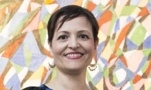 د. عادلة العايدي هنية مديرة للمتحف الفلسطيني