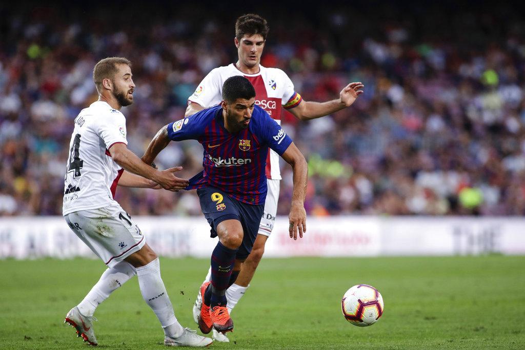برشلونة يمطر شباك هويسكا بثمانية أهداف لهدفين